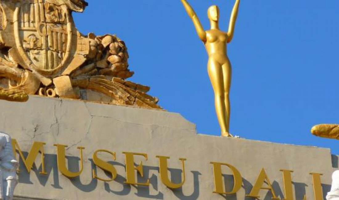 Visit Dalí theater museum, Figueres, Girona